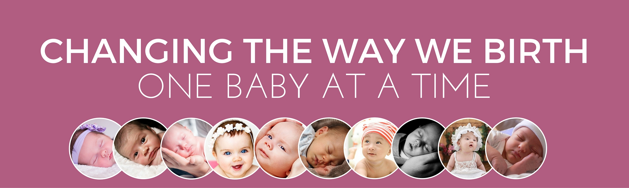 Changing the way we birth