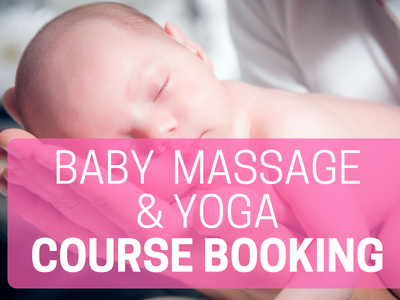 Baby Massage and Baby Yoga courses
